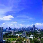 Beberapa Potret Langit Jakarta Di Masa Isolasi Jauh Lebih Bersih
